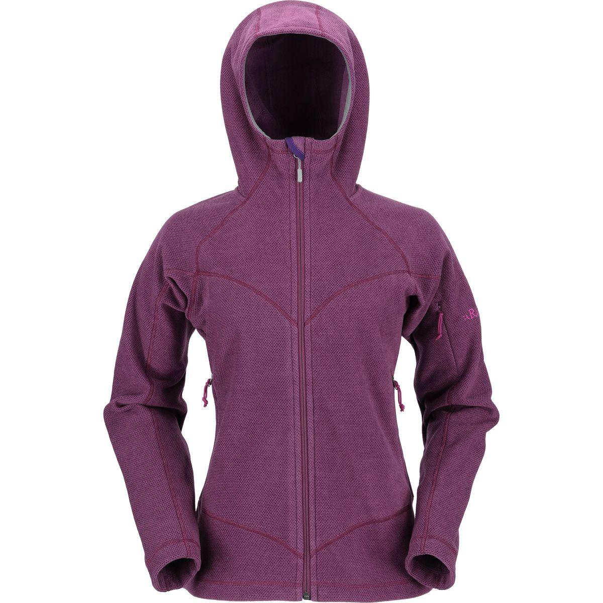 Rab Novak Hooded Fleece Jacket - Women