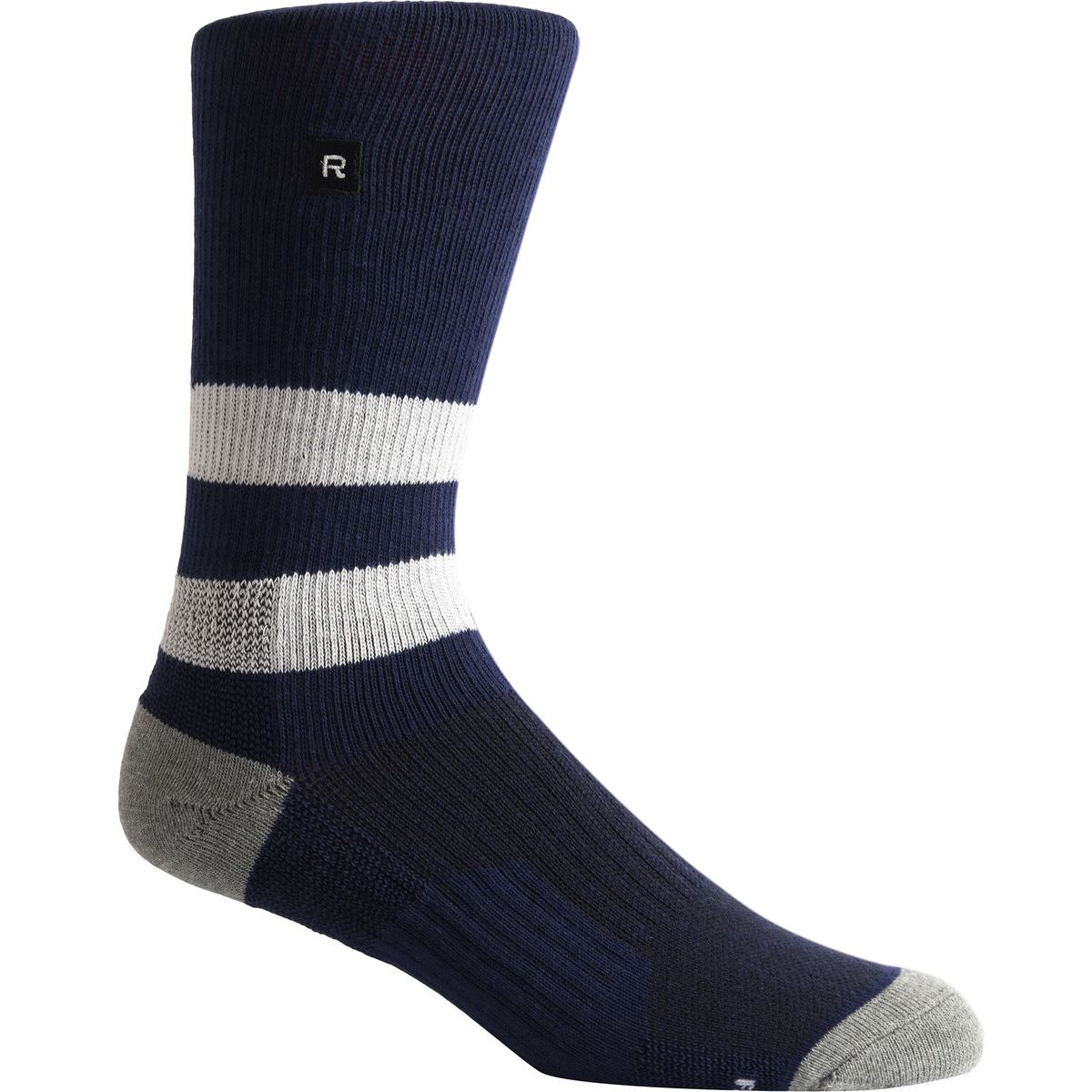 Richer Poorer Leon Athletic Sock Navy White One Size