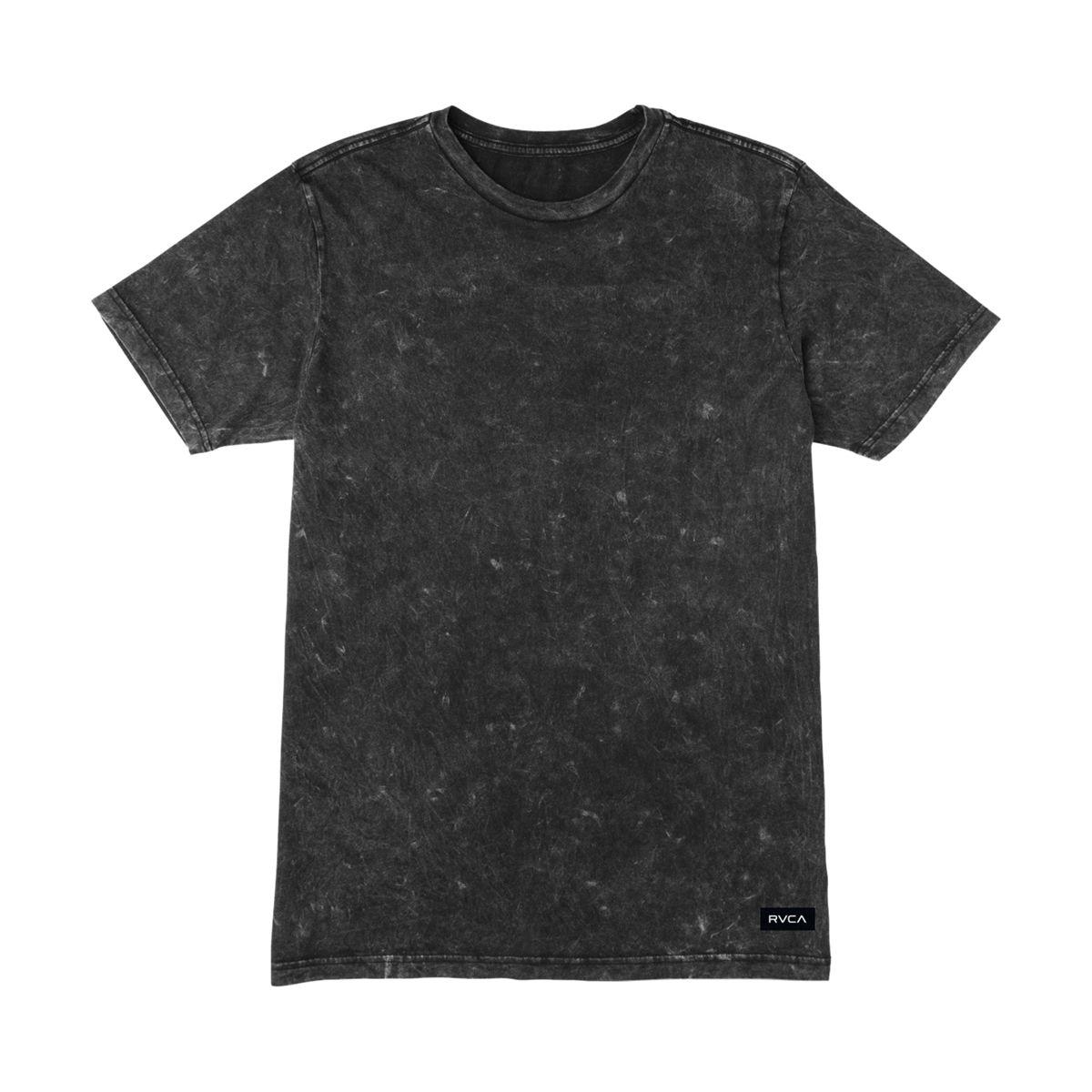 RVCA Label Mineral Wash T-Shirt - Short-Sleeve - Men