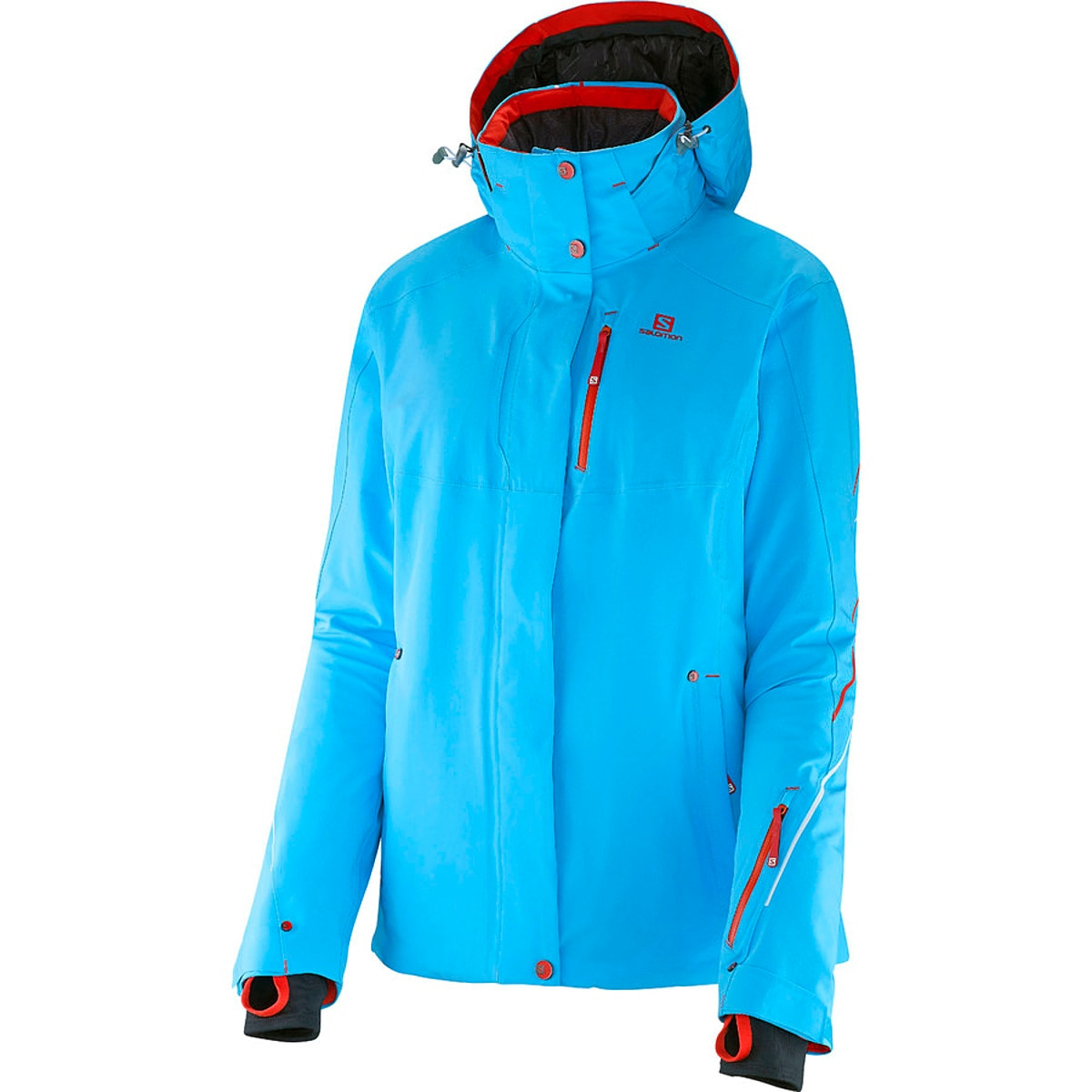 photo: Salomon Brilliant Jacket synthetic insulated jacket
