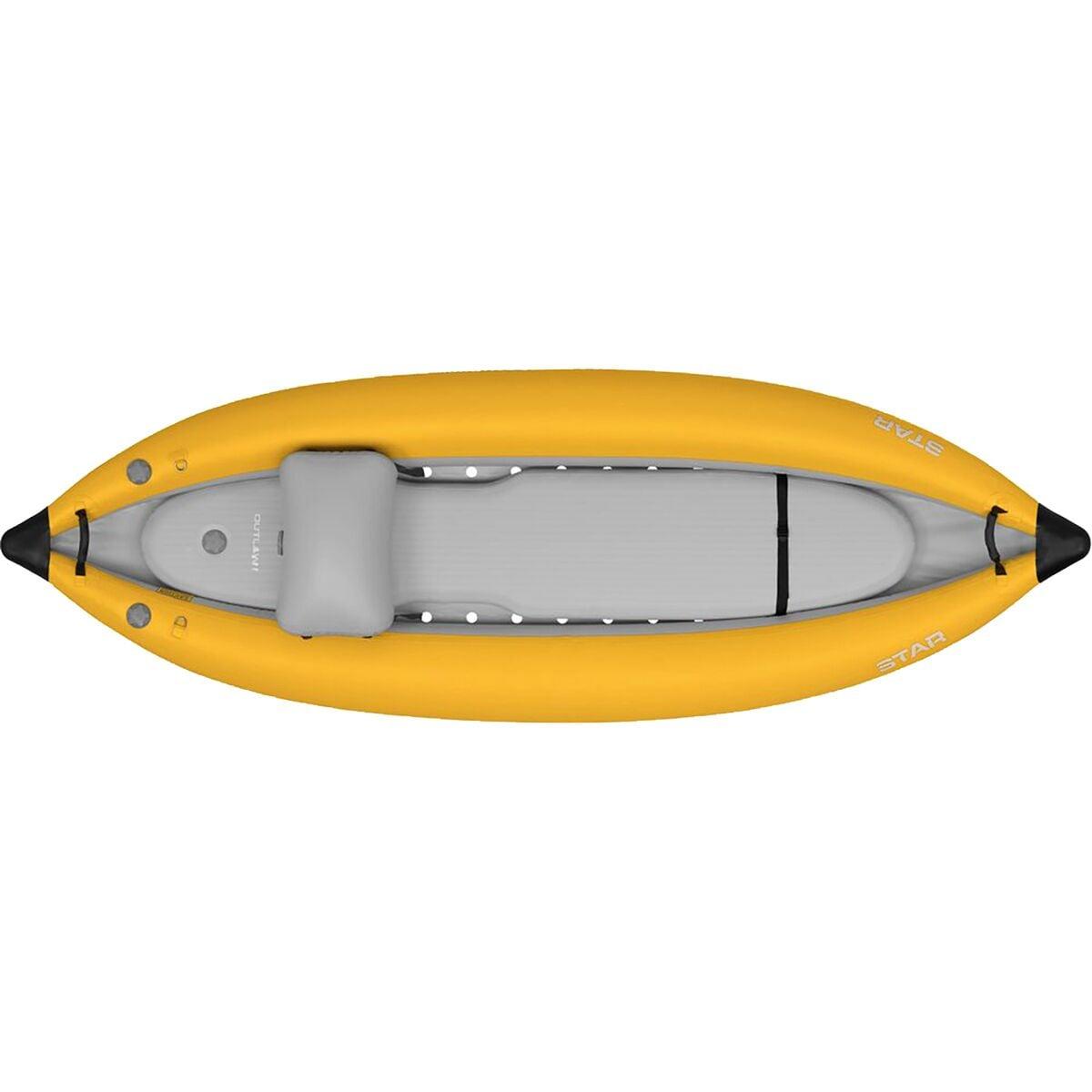Star Outlaw Inflatable Kayak Yellow, I