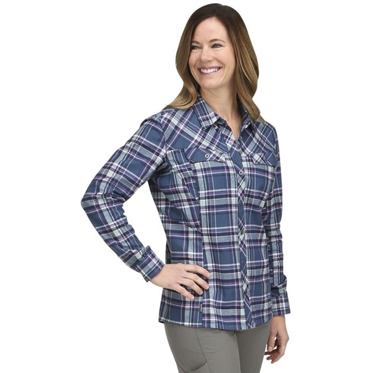 Primaloft Blend Flannel Shirt - Women