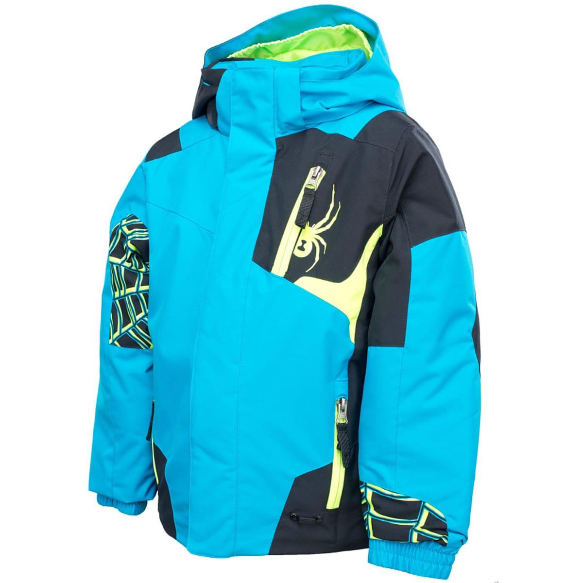 photo: Spyder Boys' Mini Challenger Jacket snowsport jacket