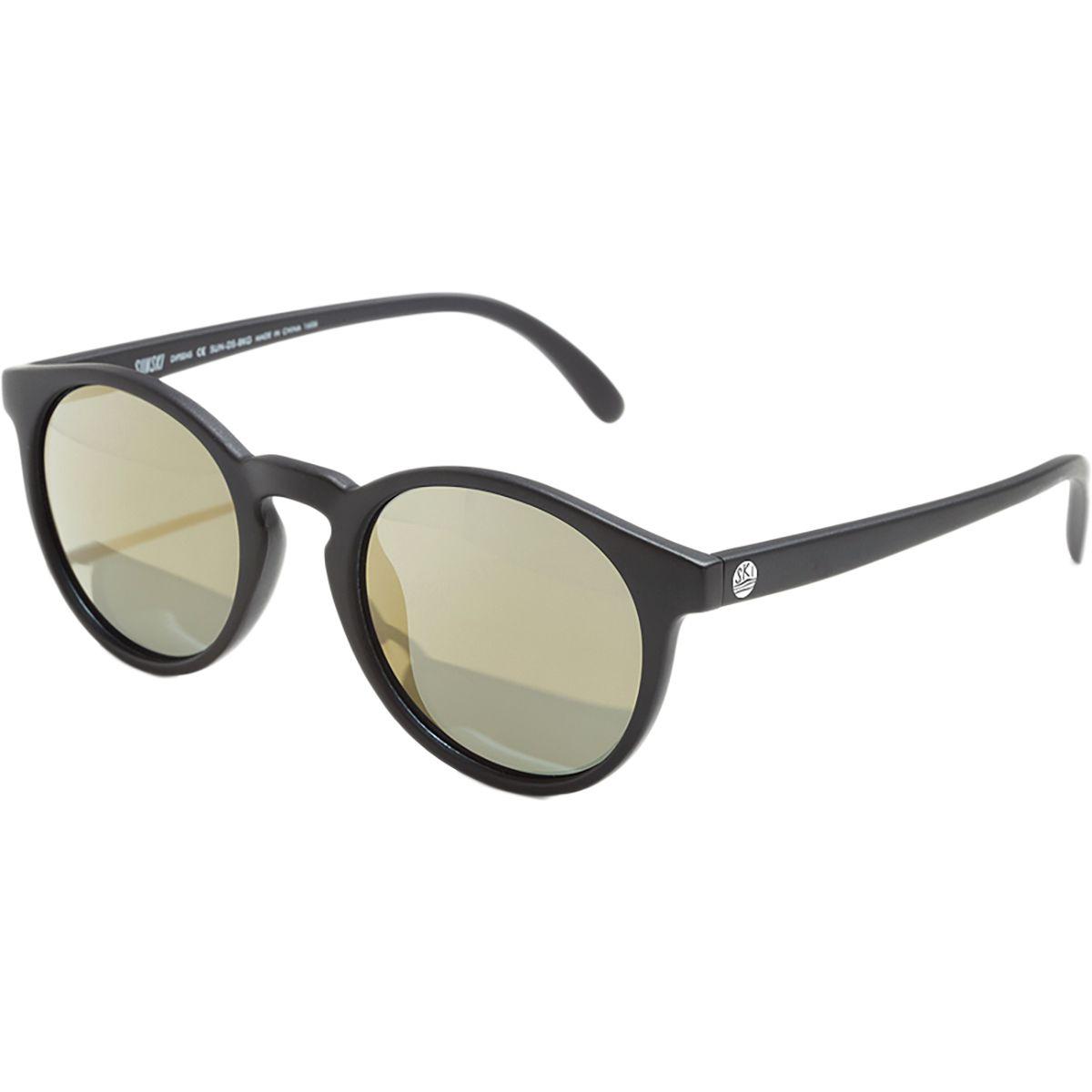 Sunski Dipsea Sunglasses  Polarized Black Gold One Size