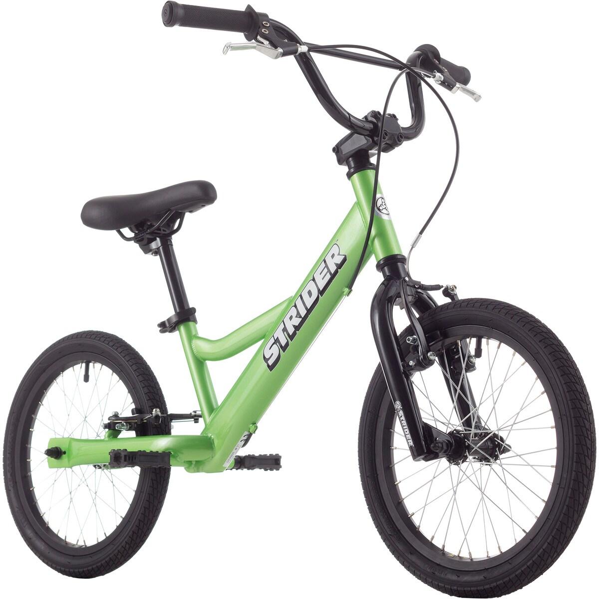 Strider 16 Sport Kids Bike 2015 Green One Size