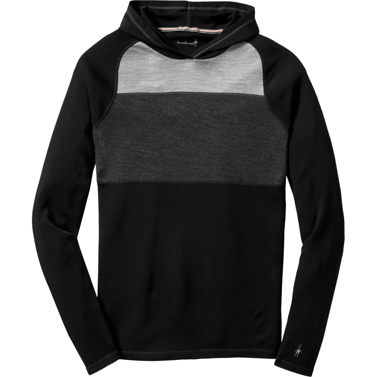 SmartWool NTS Midweight 250 Color Block Pullover Hoodie - Men