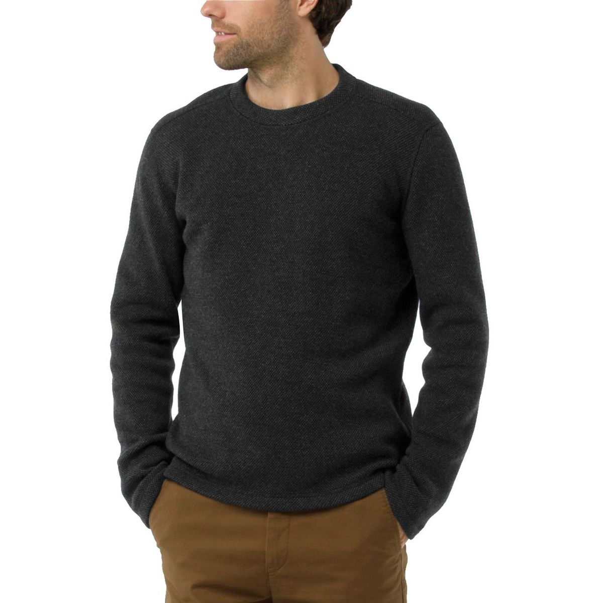 Hudson Trail Fleece Crew Sweater - Men