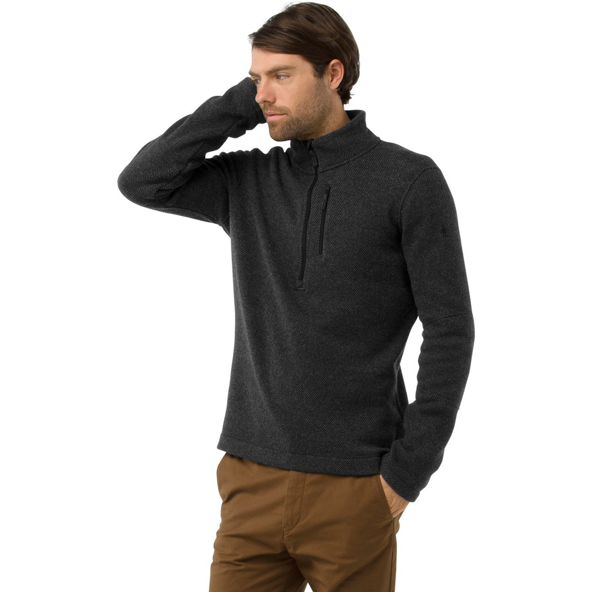 Hudson Trail Fleece 1/2-Zip Sweater - Men