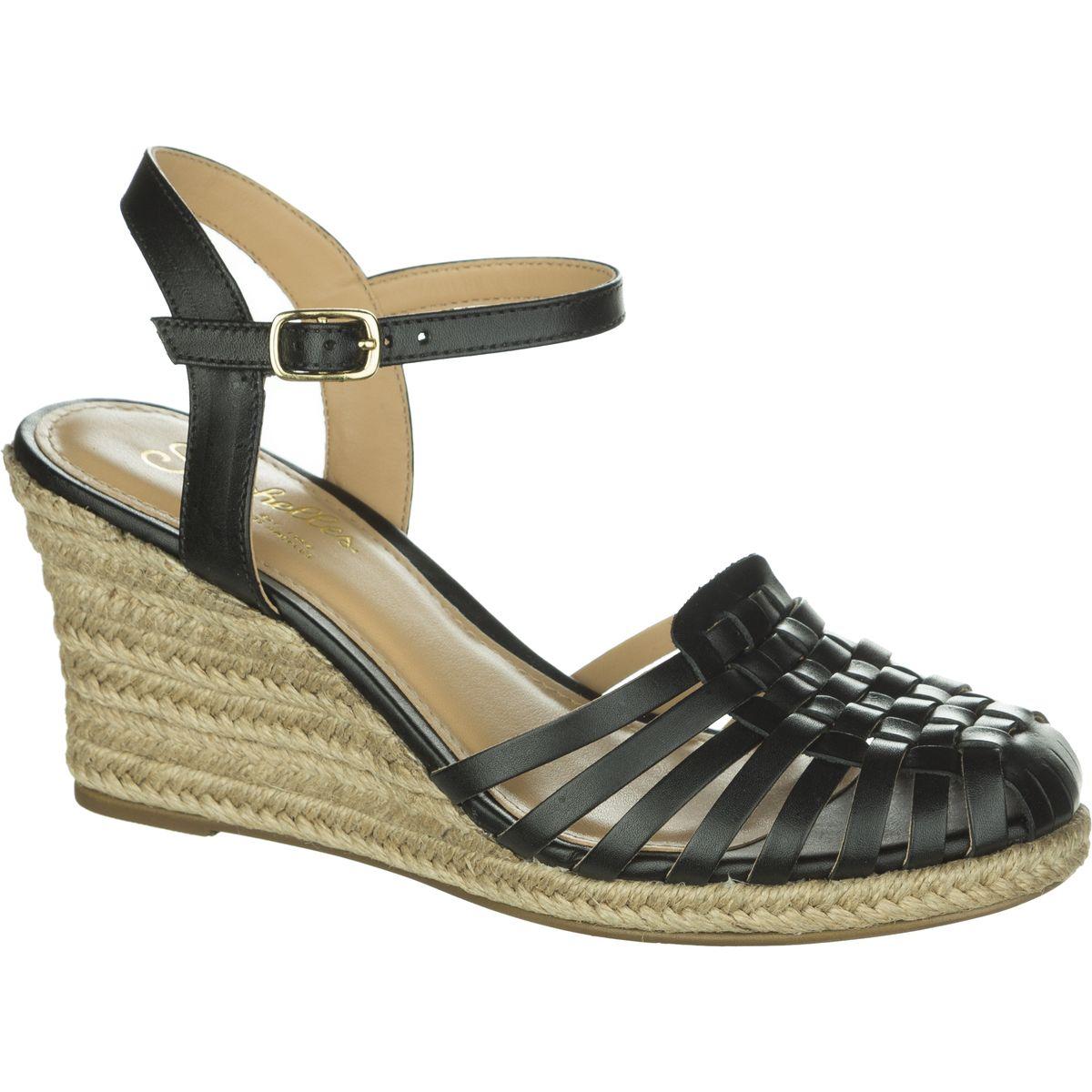 Seychelles Footwear Aspiration Shoe  Womens Black Leather 100