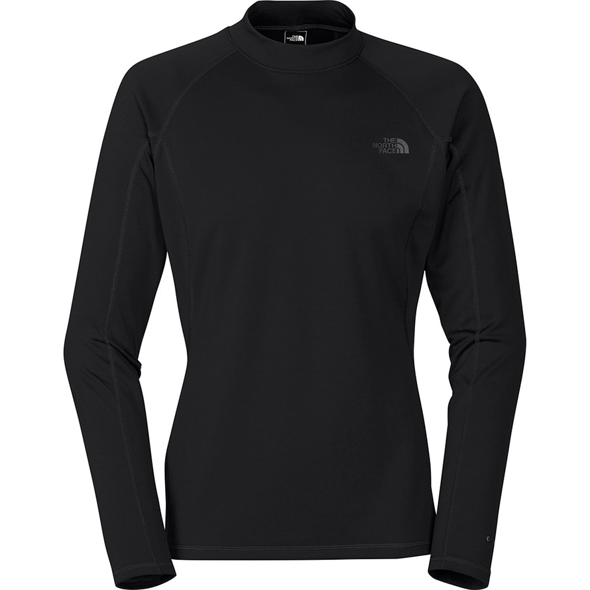 photo: The North Face Men's Warm Long-Sleeve Mock Neck