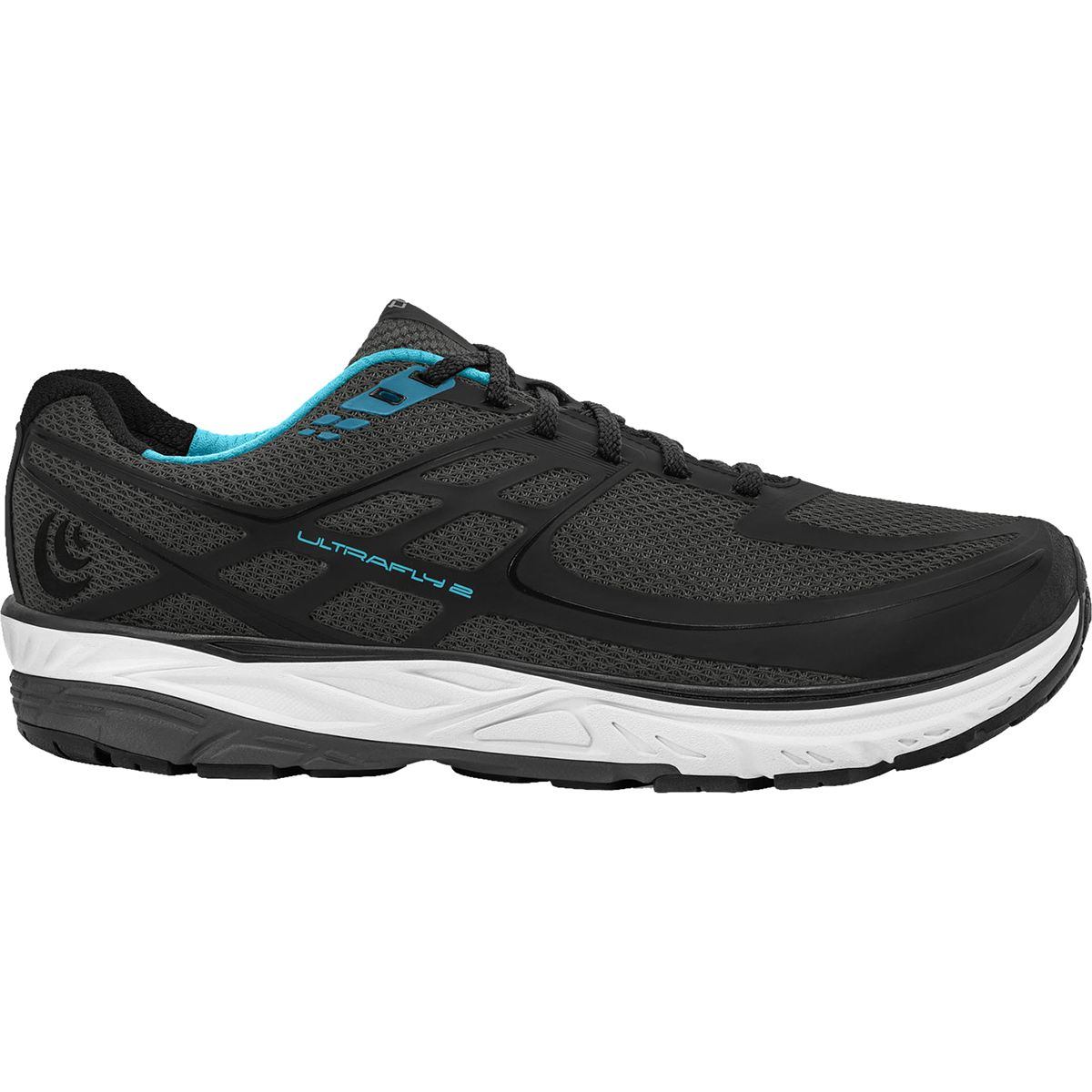 Topo Athletic Ultrafly 2 Running Shoe - Women's Black/Blue, 10.0 TPA000Z-BLA-S10