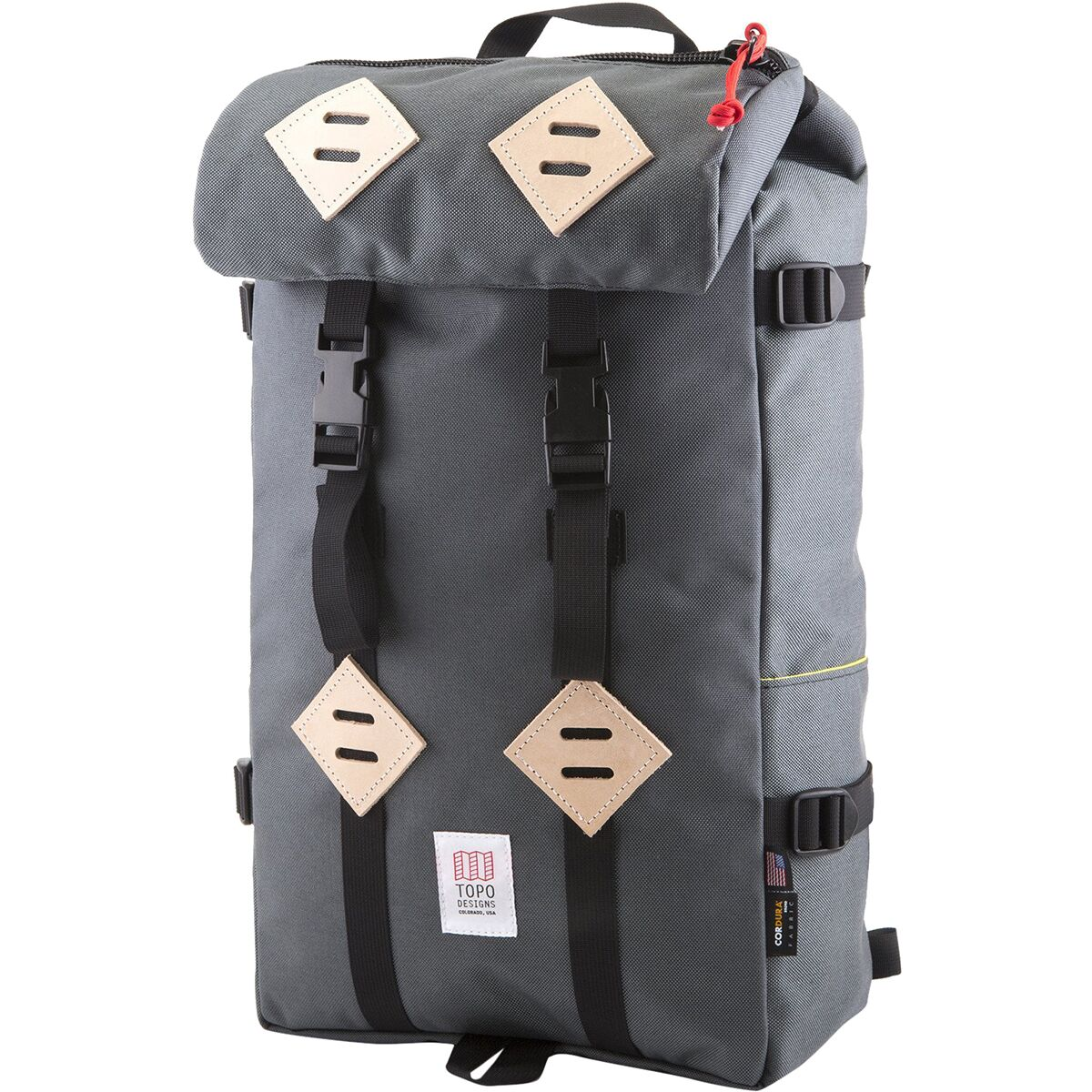 Topo Designs Klettersack 22L Backpack Charcoal One Size  169.00 The Topo  Designs Klettersack Backpack may look like it just stepped out of a Norman  Rockwell ... eb550d343a047