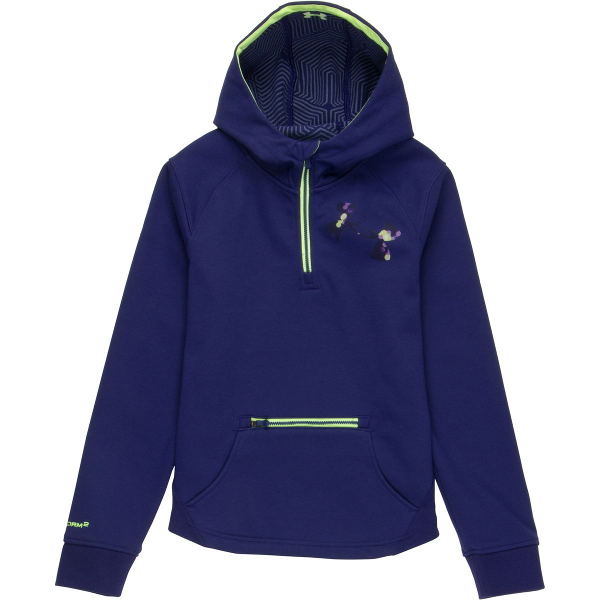 Under Armour ColdGear Infrared Dobson Hooded Softshell Pullover - Girls