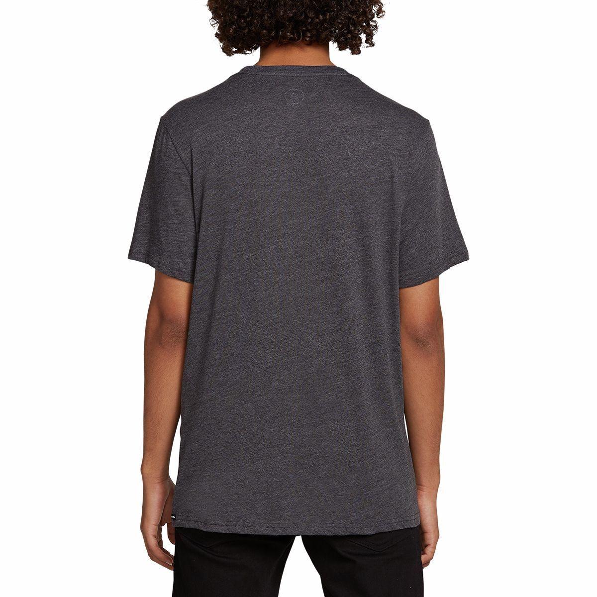 Volcom Solid Short Sleeve T-Shirt in Black