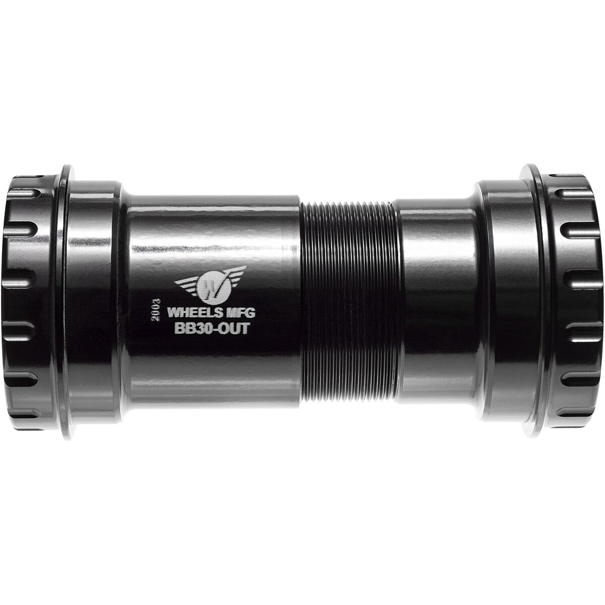 Wheels Mfg BB30 to Shimano Bottom Bracket with ABEC 3 Bearings Black One Size