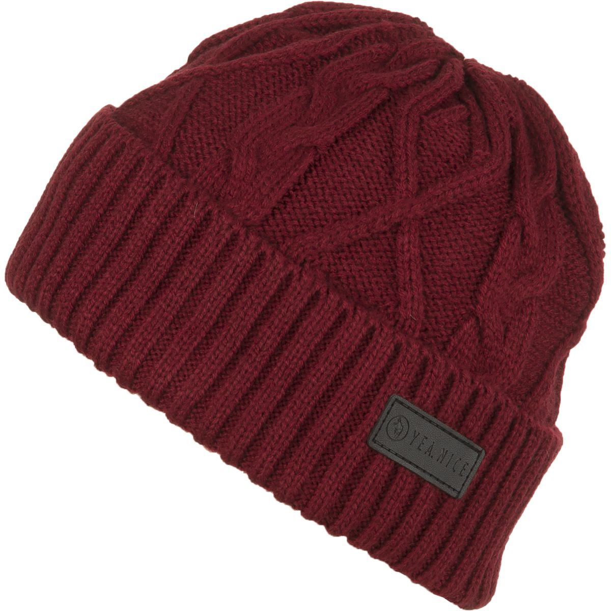 YeaNice Cable Beanie Furnace One Size