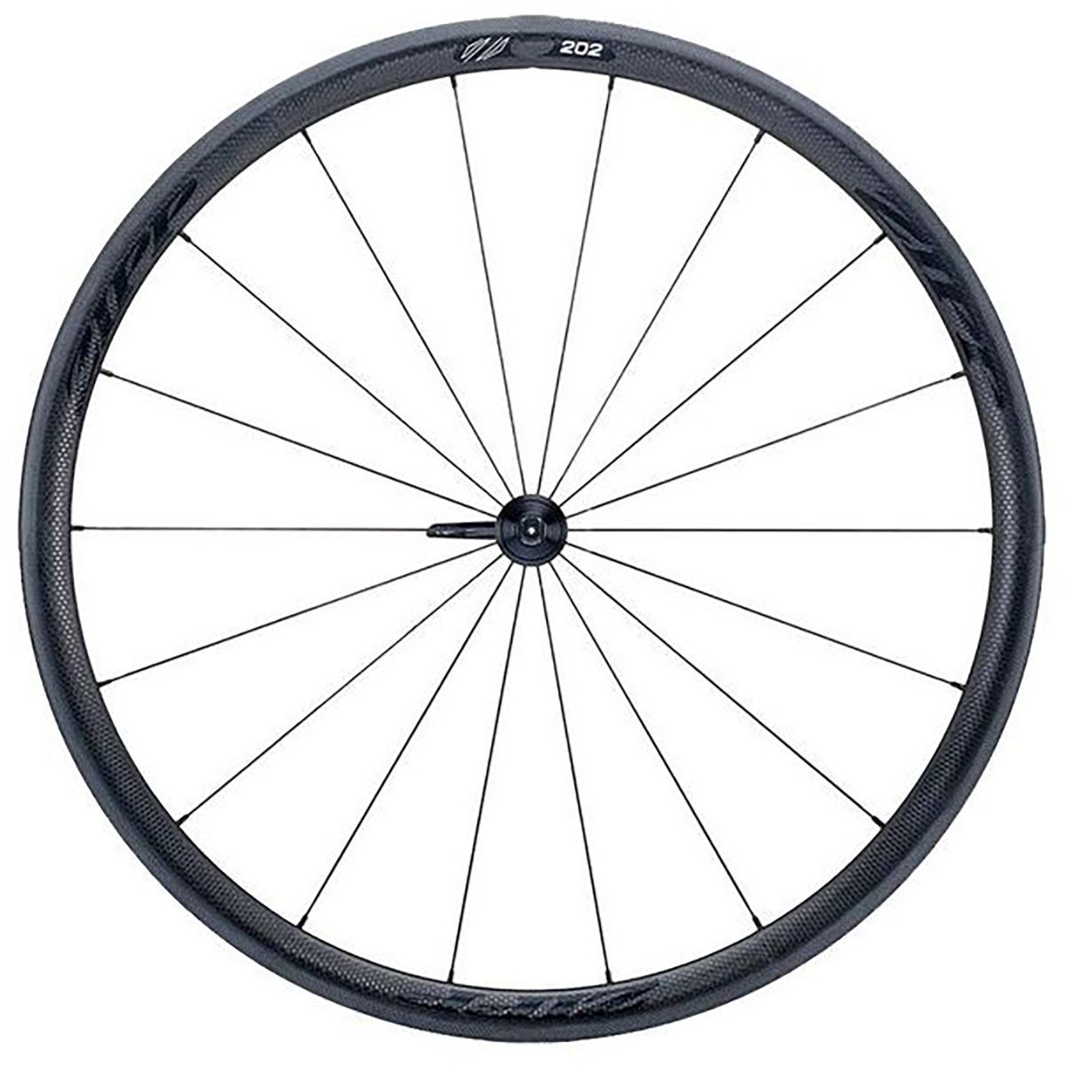 Zipp 202 Carbon Road Wheelset  Tubular Black SRAM Shimano 11 Speed