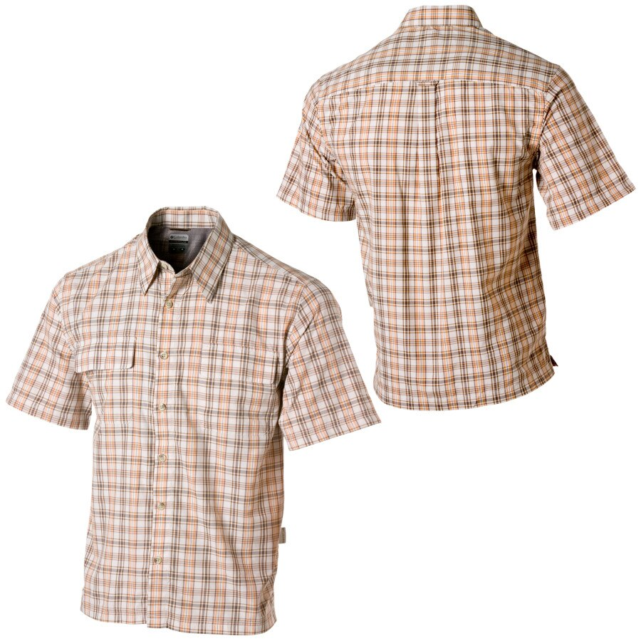 Columbia Travel Shirt No 5 Button Down Short Sleeve Men