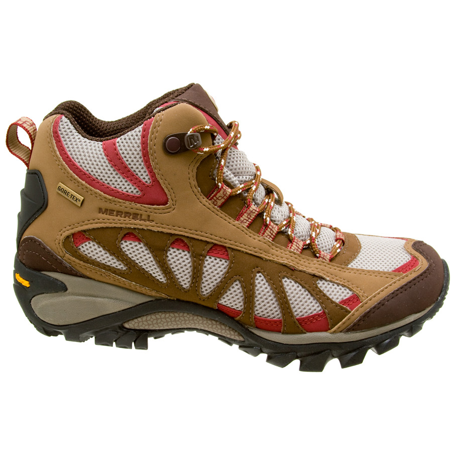 Merrell Moab Waterproof Womens Hiking Shoe (Dusty Olive