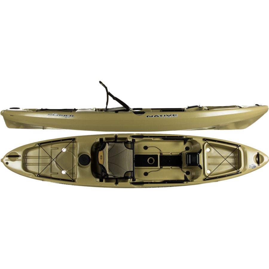 Native watercraft slayer 12 kayak for Native fishing kayak