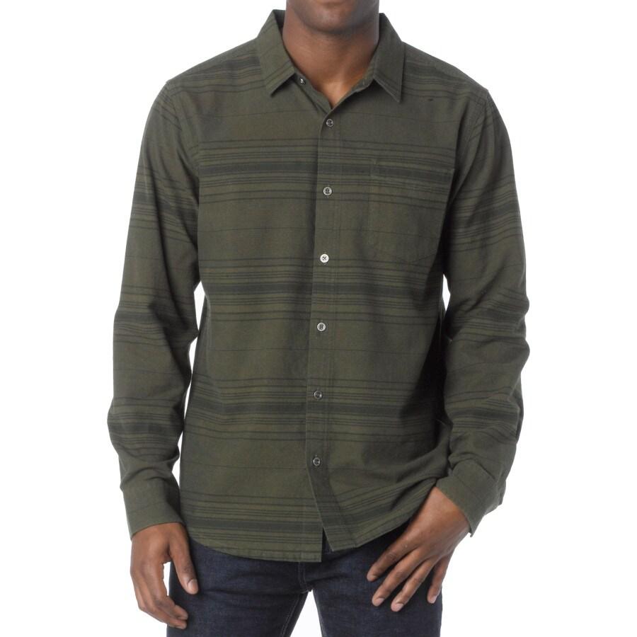 Prana leon flannel shirt long sleeve men s backcountry com
