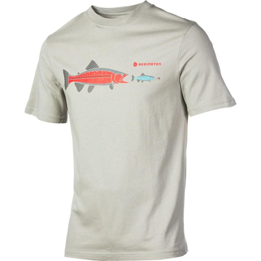Redington fish fly t shirt short sleeve men 39 s for Fly fishing shirt