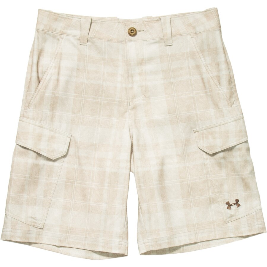 Under armour fish hunter cargo short men 39 s for Under armour fishing shorts