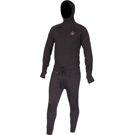photo: Airblaster Men's Expedition Weight Ninja Suit one-piece base layer