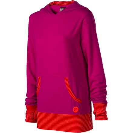 photo: Burton Player Pullover Hooded Tee base layer top