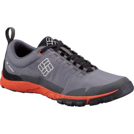 Columbia Flightfoot Hiking Shoe - Men's Charcoal/Storm Grey, 10.5