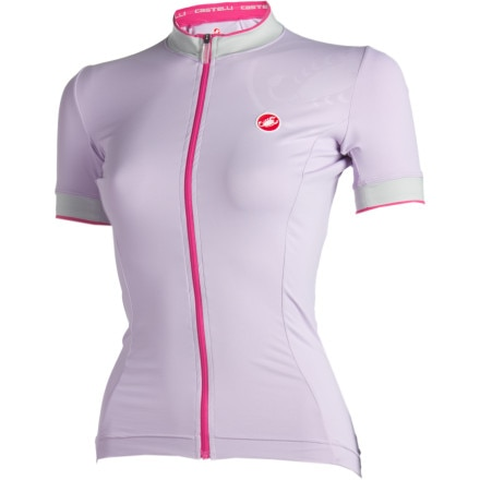 Castelli Perla Full-Zip Short Sleeve Women's Jersey