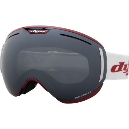 Dye CLK Goggle with Extra Lenses Included Red, One Size