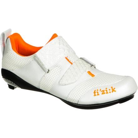 Fi'zi:k K1 Donna Shoes White/Violet/Orange, 37.0