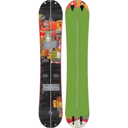 K2 Snowboards Panoramic Splitboard Kit