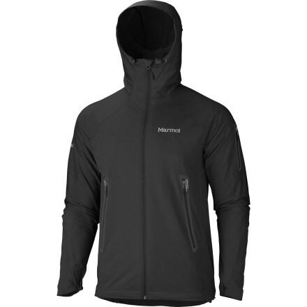 review detail Marmot Vapor Trail Hooded  Softshell Jacket - Men's