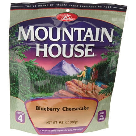 Mountain House Blueberry Cheesecake