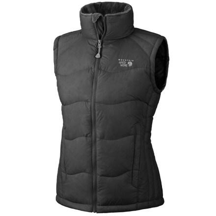 photo: Mountain Hardwear Women's LoDown Vest down insulated vest