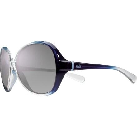 Nike Nike Luxe Sunglasses - Women's Grand Purple Gradient/Grey Violet Flash, One Size