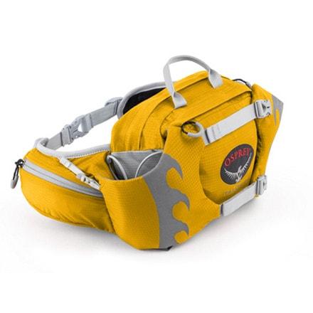 Поясная сумка для мультигонок.  Горизонтальные компрессионные ремни...