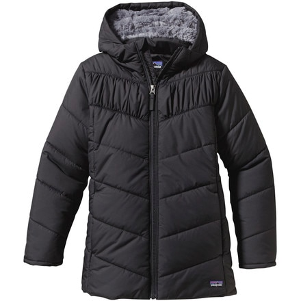 Wintry Snow Insulated Coat - Girls'