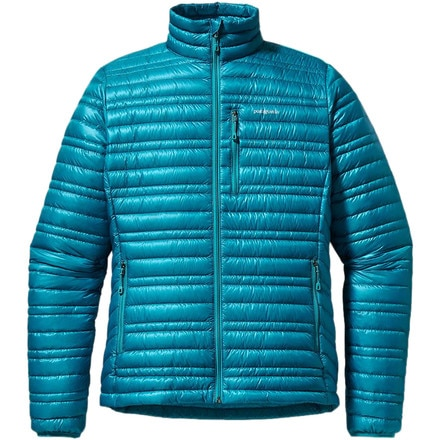 Patagonia ultralight down jacket test