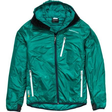 photo: Peak Performance Heli Regulate Hood synthetic insulated jacket