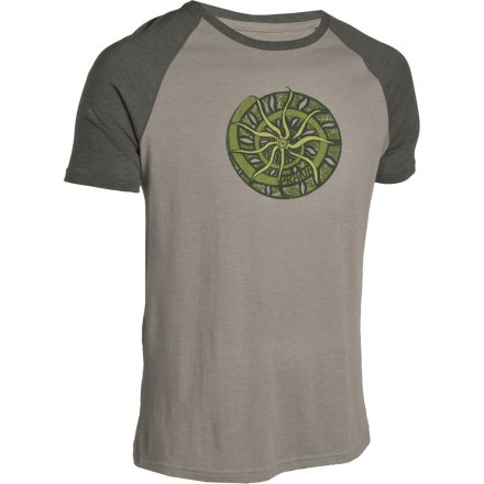 prAna Nautilus Heathered Raglan T-Shirt - Short-Sleeve - Men's
