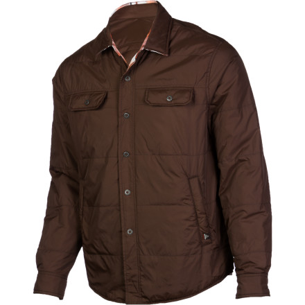 8c68c95311a37 prAna Rhody Reversible Jacket - Men s Brown L - xskoshop2