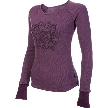 Prana jill thermal shirt long sleeve women 39 s for Thermal shirt for women