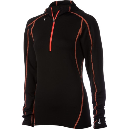 photo: Stoic Women's Merino Composite 1/4 Zip Top base layer top