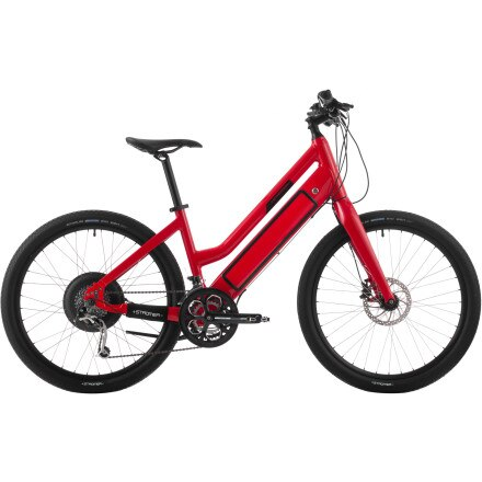 c14438b3529 Stromer ST-1 Platinum Women's Complete Electric Bike Red 16.5in ...