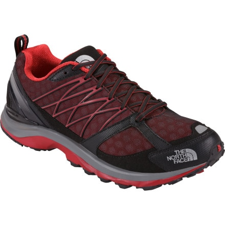 The North Face Double-Track Guide Trail Running Shoe - Men's TNF Red/TNF Black, 11.0