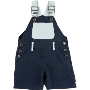 Double Tencel Dungaree - Infant Boys'