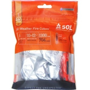 Adventure Medical All-Weather Fire Cubes